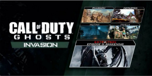 Call of Duty Ghosts Invasion DLC out