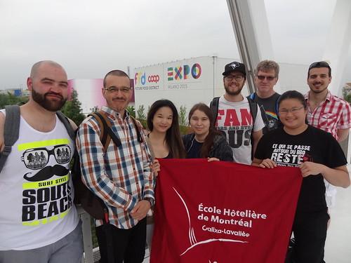 El centro educativo italiano RIETI, recibió a alumnos canadienses  de la escuela Calixa Lavallée/The Italian Education Center RIETI welcomed Canadian students from Calixa Lavallee School.