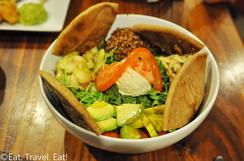 Real Food Daily- Pasadena, CA: Mediterranean Bowl