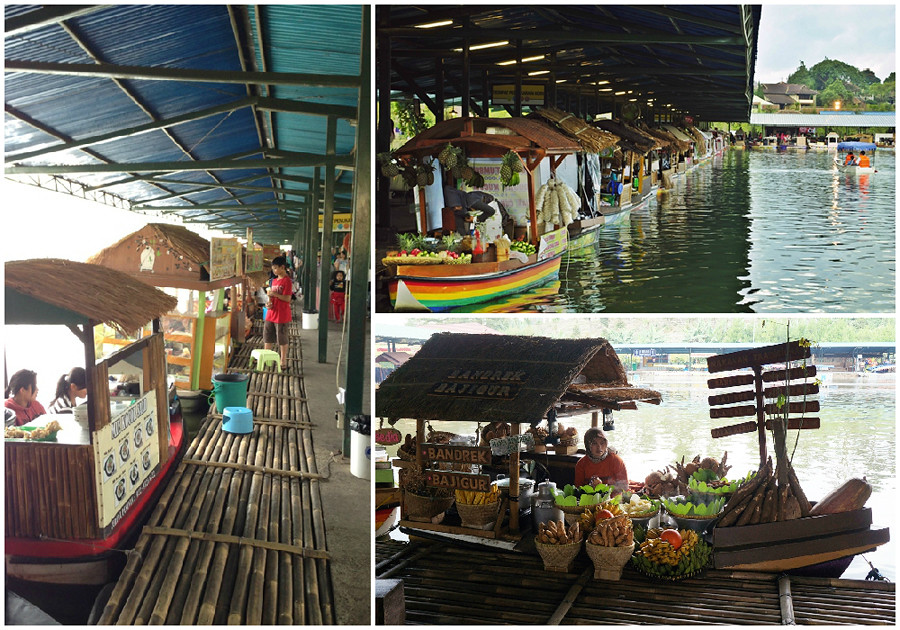 lembang floating market raft via dennie ramon