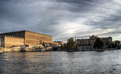 The Palace & Parliament, Stockholm
