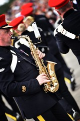 marching band, musician, saxophone, musical instrument, music, person,