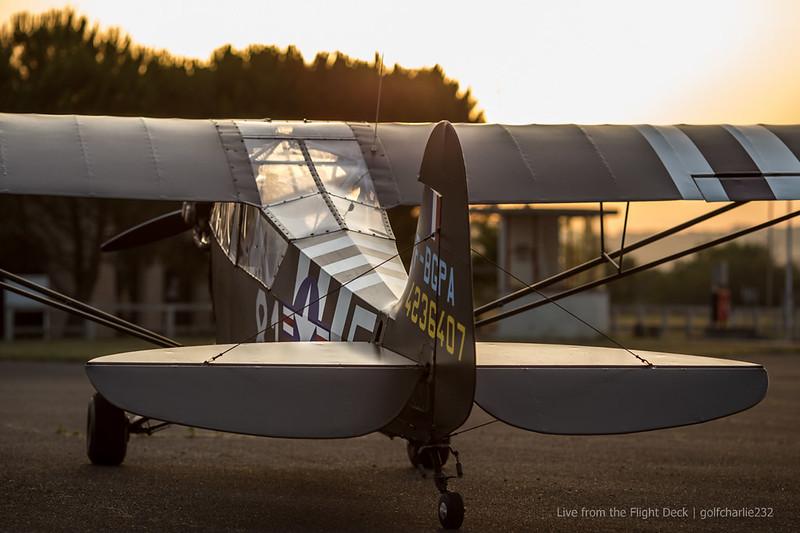 Arcachon en Piper Cub 19391140898_8f657fb272_c