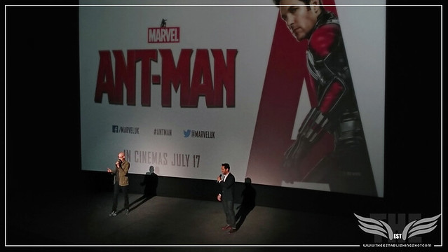 The Establishing Shot: PEYTON REED & PAUL RUDD SURPRISE US AT A SCREENING OF MARVEL'S ANT-MAN IN LONDON