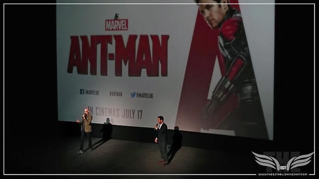 The Establishing Shot: PEYTON REED & PAUL RUDD SURPRISE US AT A SCREENING OF MARVEL'S ANT-MAN IN LONDON