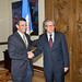 Secretary General Meets with Governor of Venezuelan State of Miranda