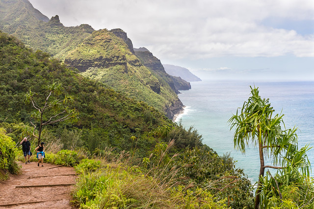 Kalalau Trail - Kauai - Hawaii