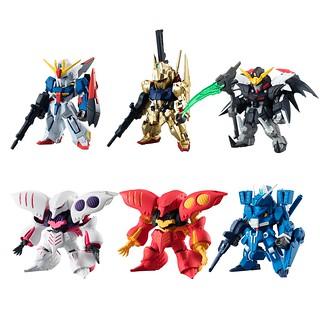 《鋼彈 新章節 #》盒玩「第七彈」好評續推!FW Gundam Converge #07