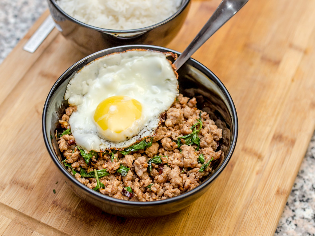 Thai Basil Ground Pork