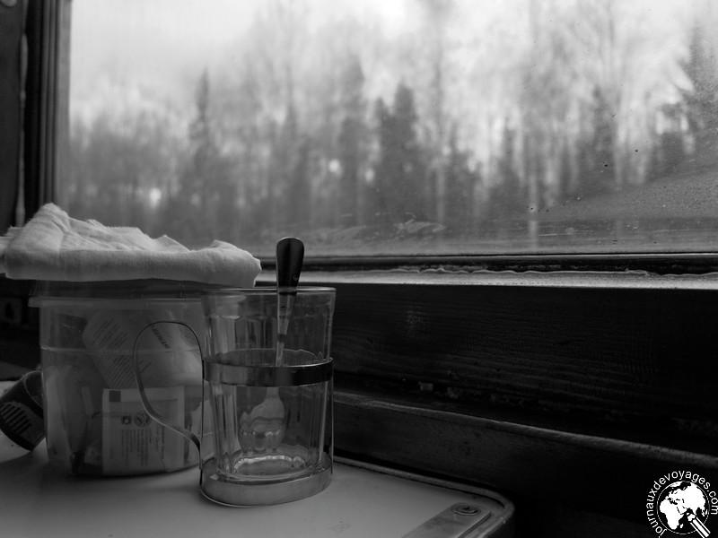 A bord du Transsibérien