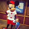 Mickey and son.