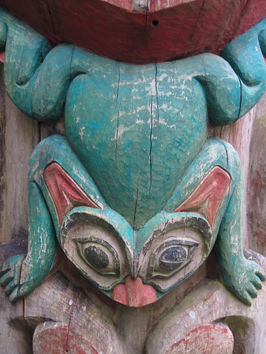 149/365: Totem Pole Detail by jchants