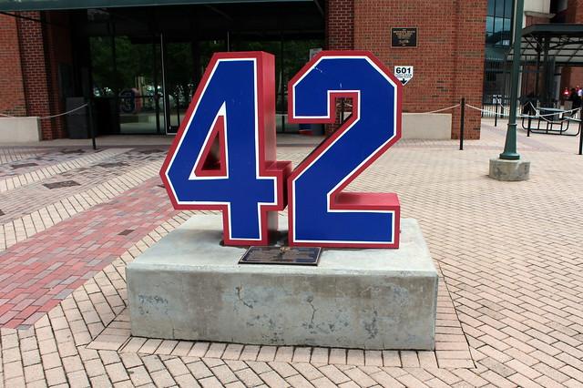 Atlanta Turner Field Monument Grove 42 Jackie