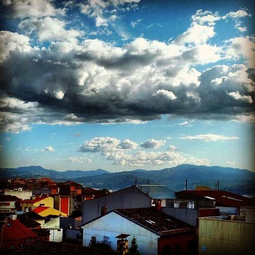 Nubes desde mi habitación