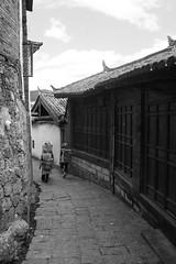 Gravel road in LiJiang
