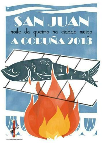 A Coruña 2013 - San Xoán cartel 1