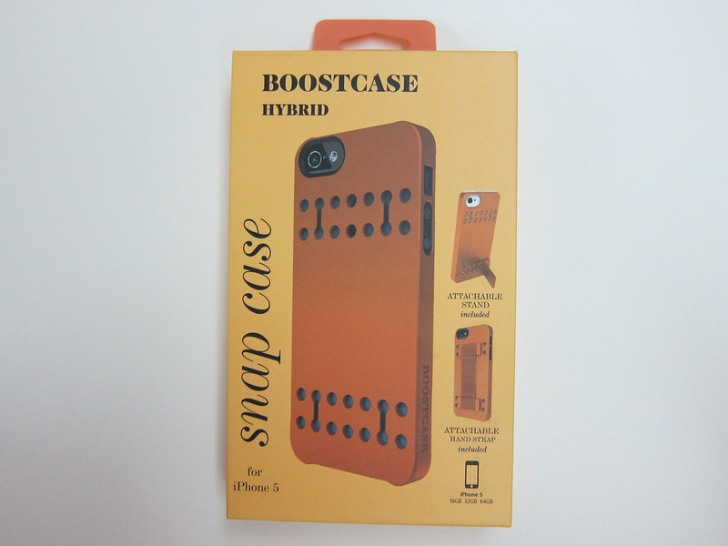 Bootcase - Hybrid Snap Case For iPhone 5 - Box Front