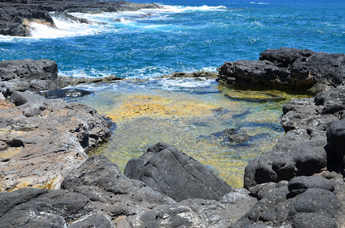 Secret Beach and Lava Pools