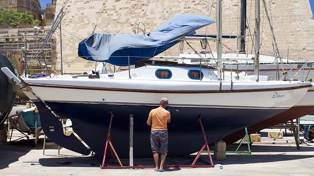 Yacht renovation - Malta