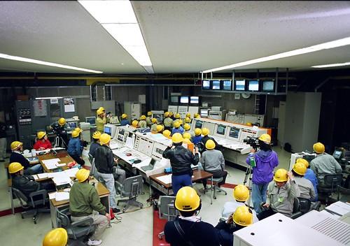 M-Vの管制室