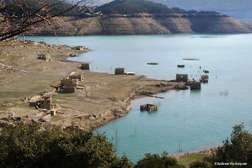 lake landscape dam greece ελλάδα τοπίο φράγμα φωκίδα λίμνητουμόρνου lakemornou