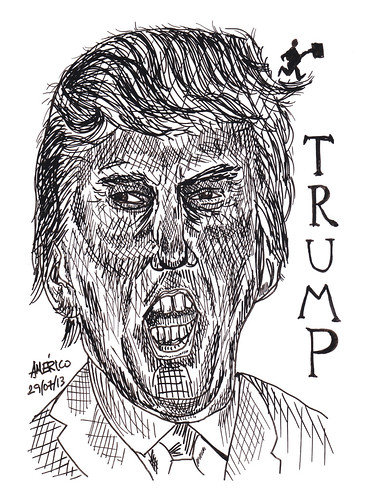 Donald Trump, president of the Trump Organization by americoneves