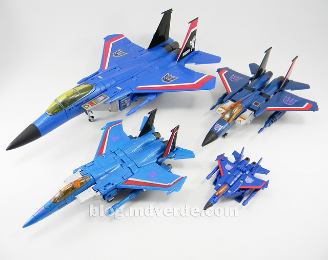 Transformers Thundercracker Legends - Generations GDO - modo alterno