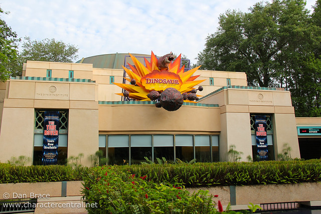Wandering around Dinoland USA