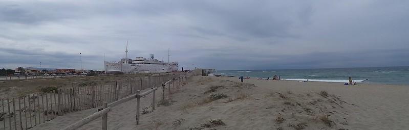 Le LYDIA, le paquebot des sables