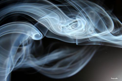 Première expérience de photo de fumée...