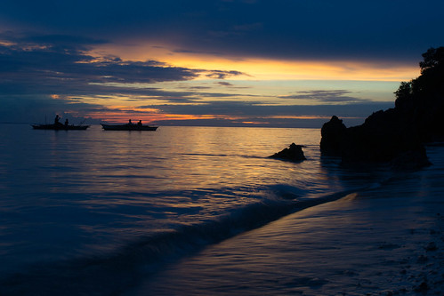 sunset island southeastasia philippines malapasca