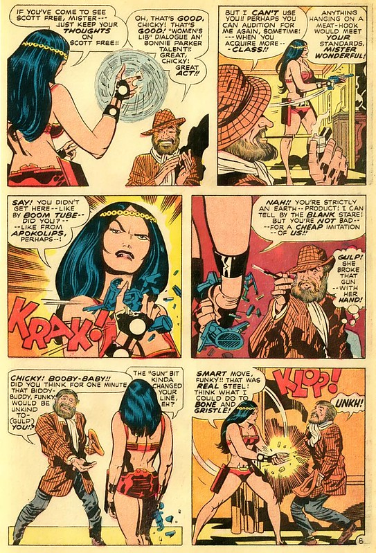 Mr Miracle 6 Big Barda meets Funky Flashman