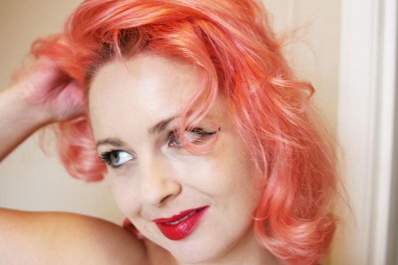 Pastel Hair Tutorial Peach Ish Style