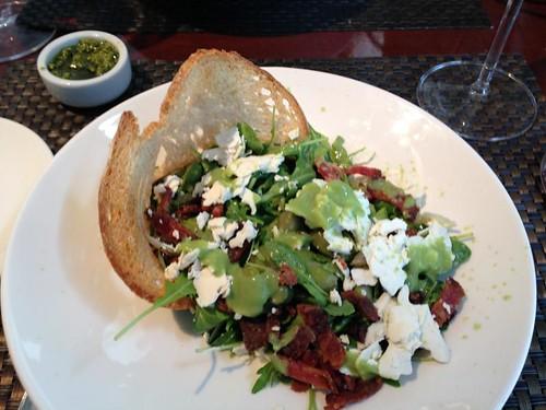 salad, Donata Enoteca, arugula, guanciale, … IMG_0568