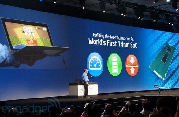 ноутбуки на 14нм SoC Intel