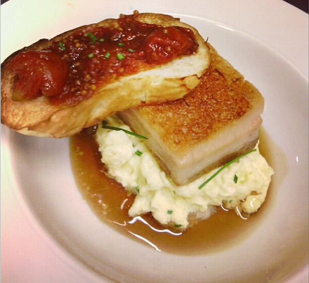 Maple-Glazed Pork Belly