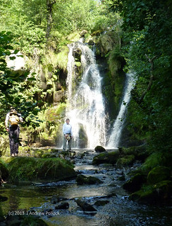 Waterfall in Valley of Desolation Aug2013