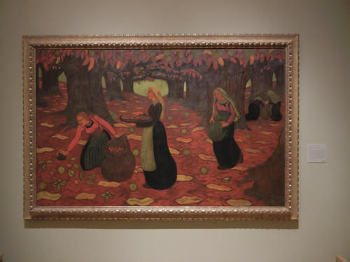 DSCN7800 _ Autumn: The Chestnut Gatherers, 1894, Georges Lacombe (1868-1916), Norton Simon Museum, July 2013