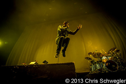 Deftones – 10-13-13 – Hail to the King Tour, Joe Louis Arena, Detroit, MI