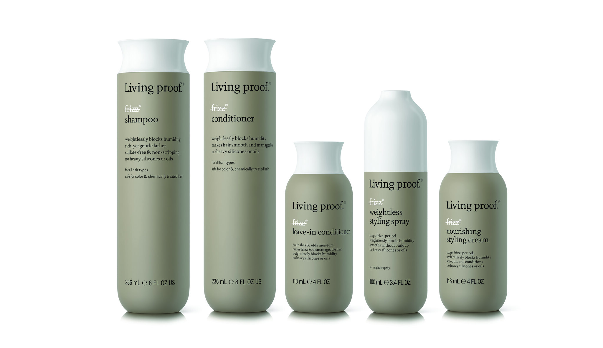 Living Proof No Frizz Collection Group Shot
