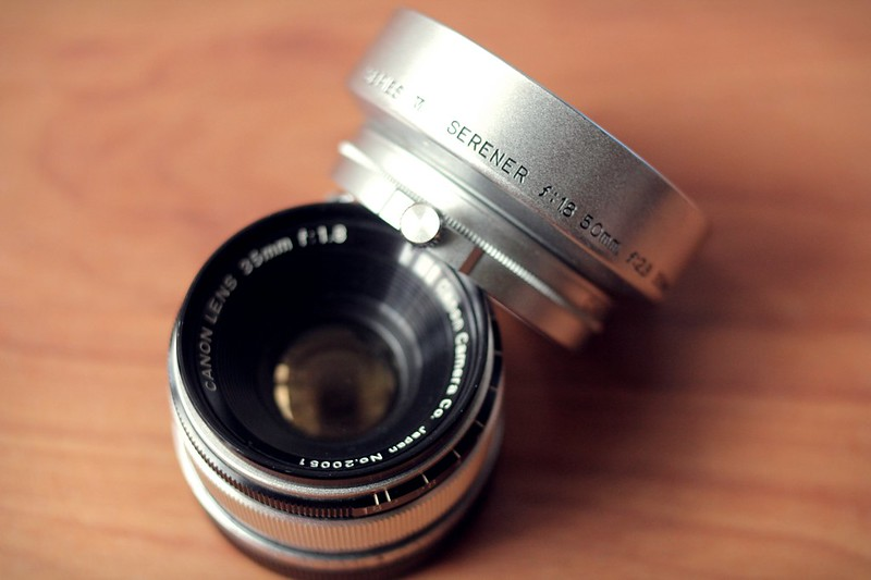 Canon 35mm f1.8 ltm on VT Deluxe