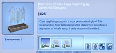 Dramatic Static Floor Lighting by Corebital Designs