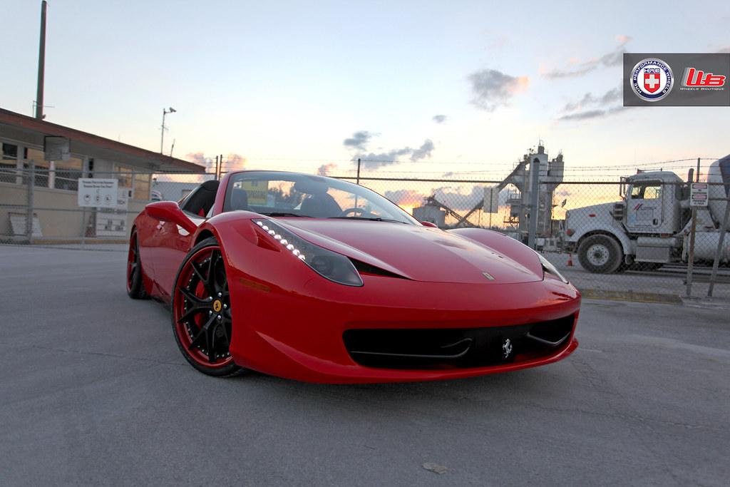 Ferrari 458 Spider On Hre S101 6speedonline Porsche Forum And
