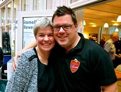 Brassbandfestivalen 2013 - Berit Palmquist och Patrik Randefalk (Foto: Olof Forsberg)