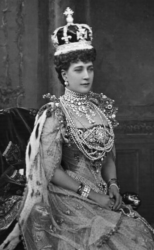 Queen Alexandra of the United Kingdom at her coronation (1902)