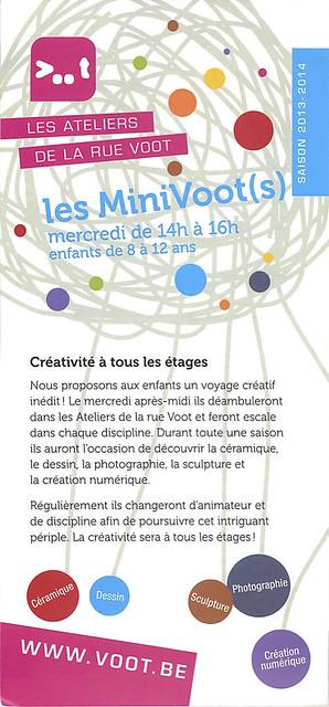 les Minivoot(s), mercredi de 14h à 16h, enfants de 8 à 12 ans