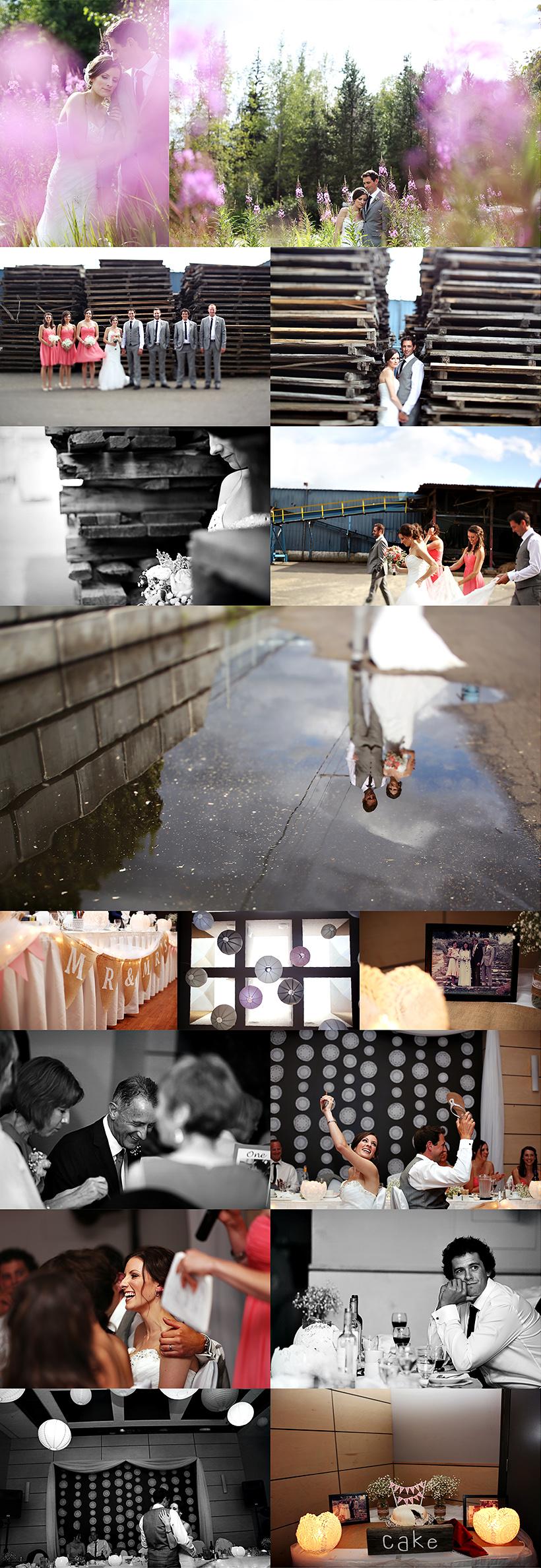 prince george wedding photographer