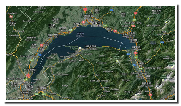 Lausanne map