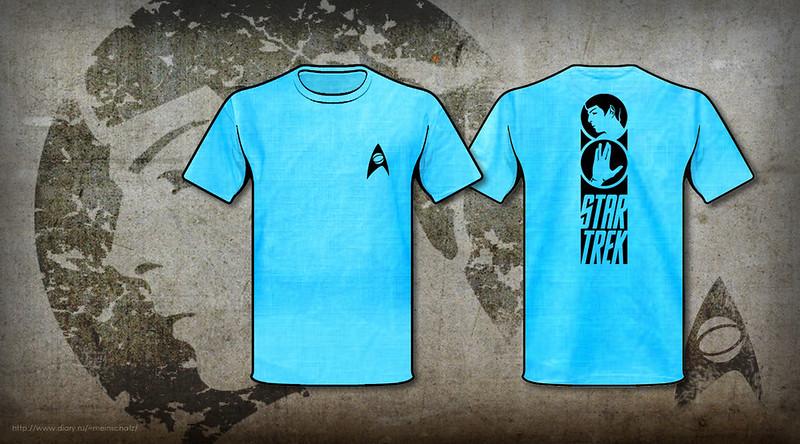 Star Trek handmade T-shirt (Spock)