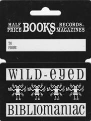 Wild-Eyed Bibliomaniac card